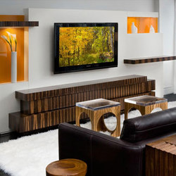 Stax Entertainment Unit | Wall storage systems | Cliff Young