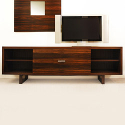 Quattro Entertainment Unit | Wall storage systems | Cliff Young