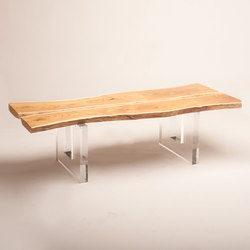 Live Edge Cocktail Table | Mesas de centro | Cliff Young