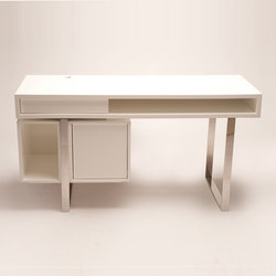 White Boxeo Desk | Desks | Cliff Young