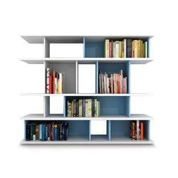 Domino Libreria | Shelving | Zalf