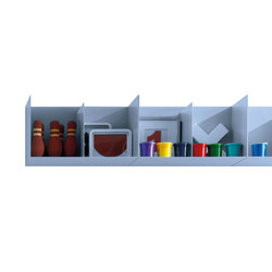 Freebox Pensili | Office shelving systems | Zalf