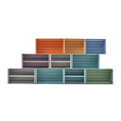 Units storage system | Shelving modules | Varaschin