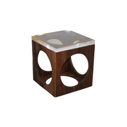 Machinist Barnwood Table | Side tables | Cliff Young
