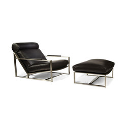 Cruisin' Lounge Chair & Ottoman | Poltrone | Cliff Young