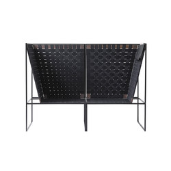 #80 Black | Garden sofas | aggestrup