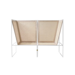 #80 White | Garden sofas | aggestrup