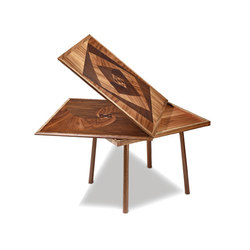 Marquetry Flip Top Table | Esstische | Cliff Young