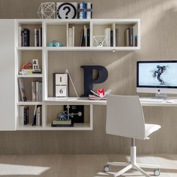 Link System Libreria | Kids storage furniture | Zalf
