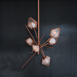 HARLOW Small Chandelier | Suspensions | Gabriel Scott