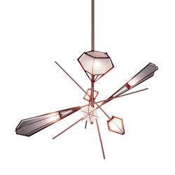 HARLOW Large Chandelier - Copper | Éclairage général | Gabriel Scott