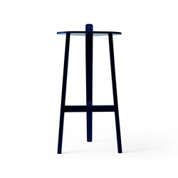 Bronco Bar Stool black blue | Tabourets de bar | Karakter Copenhagen