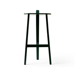 Bronco Bar Stool copenhagen green | Bar stools | Karakter Copenhagen
