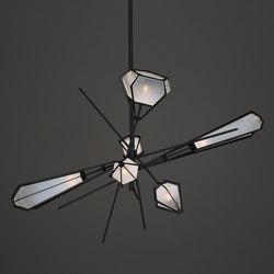 HARLOW Large Chandelier | Suspended lights | Gabriel Scott