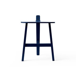 Bronco Stool black blue | Ottomans | Karakter Copenhagen