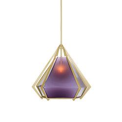 HARLOW Large Pendant - Brass   General lighting   Gabriel Scott