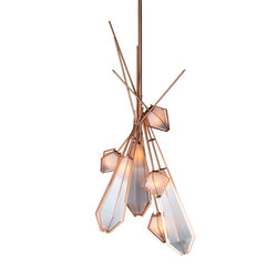 HARLOW Dried Flowers Chandelier | Lámparas de suspensión | Gabriel Scott