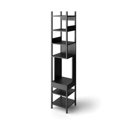 Lungangolo black | Office shelving systems | Karakter Copenhagen