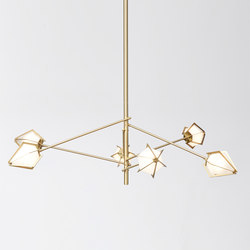 HARLOW Spoke Chandelier | Iluminación general | Gabriel Scott