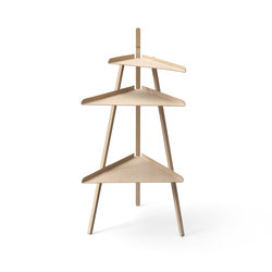 Trio oak | Side tables | Karakter Copenhagen