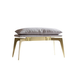 PRONG Bench Short | Upholstered benches | Gabriel Scott