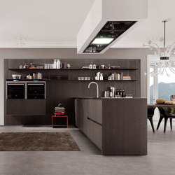 Antis FiloAntis33 Filo Free Steel | Fitted kitchens | Euromobil