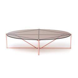 TENSEGRITY Coffee Table - Copper | Coffee tables | Gabriel Scott