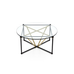 TENSEGRITY Round Coffee Table | Tavolini salotto | Gabriel Scott