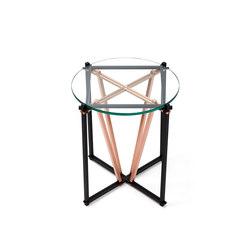 TENSEGRITY Side Table - Steel/Copper | Side tables | Gabriel Scott