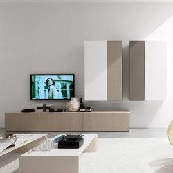 Living E45 comp.040 | Pareti attrezzate | Euromobil