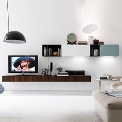 Living E45 comp.020 | Rangements muraux | Euromobil