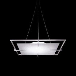 Brae Square Pendant | Éclairage général | The American Glass Light Company