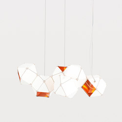 WELLES Long Chandelier | Iluminación general | Gabriel Scott