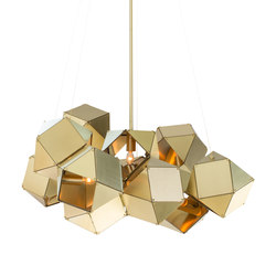 WELLES Central Chandelier | Suspended lights | Gabriel Scott