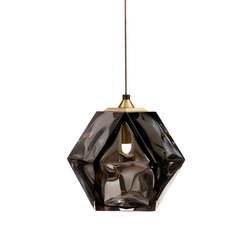 WELLES DOUBLE-BLOWN GLASS Pendant | Suspensions | Gabriel Scott