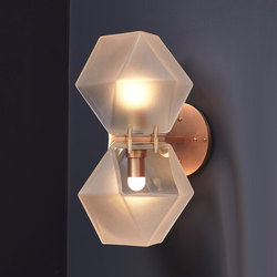 WELLES GLASS Wall-Sconce | General lighting | Gabriel Scott