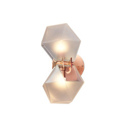 WELLES GLASS Wall-Sconce | Iluminación general | Gabriel Scott