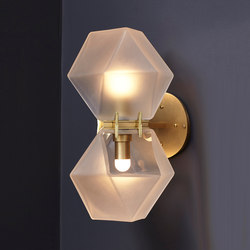 WELLES GLASS Wall-Sconce | Lámparas de pared | Gabriel Scott