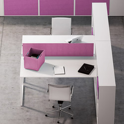 Framework 2.0 | Desking systems | Fantoni