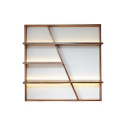 Morgan Book Case | Wall shelves | Ivar
