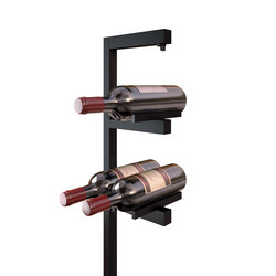 L182 | black anodized | Wine racks | MP Lighting