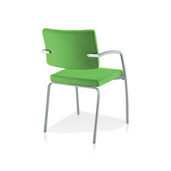 Zoom | Visitors chairs / Side chairs | Sokoa