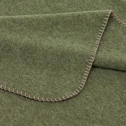 Alina Blanket olive | Couvertures | Steiner