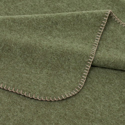 Alina Blanket olive | Coperte | Steiner1888