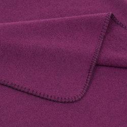 Sophia Blanket aubergine | Plaids / Blankets | Steiner