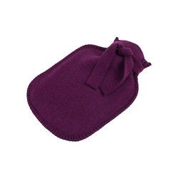 Sophia Hot-water bottle aubergine | Cuscini | Steiner