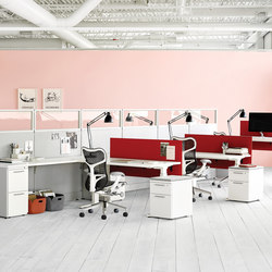 Action Office | Desking systems | Herman Miller