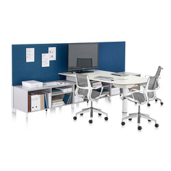 Canvas Office Landscape | Systèmes de tables de bureau | Herman Miller