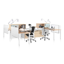 Canvas Office Landscape | Sistemas de mesas | Herman Miller