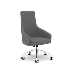 Island Forty with 5 star swivel casters | Conference chairs | ERG International